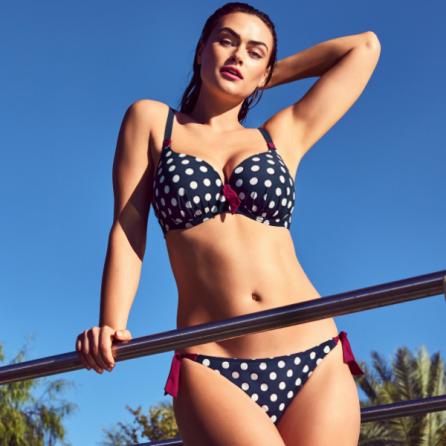 Copa Bikini Entera Preformado con Aros, Pop, Primadonna Swim. Verano 2019
