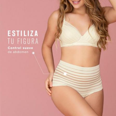 Braga Faja Alta Brasileña, Vientre Plano y Efecto Invisible, Leonisa  Estiliza figura