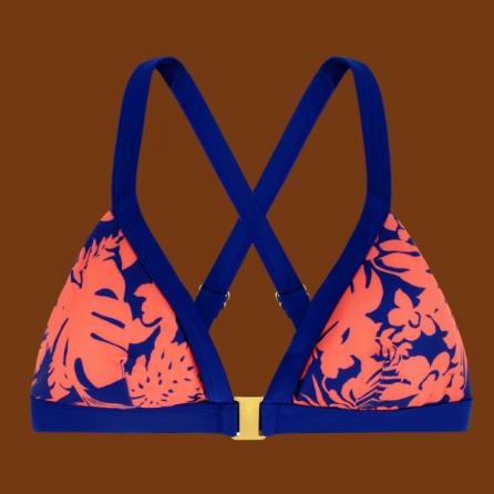 Copa bikini triángulo preformado, CASABLANCA FLUOR, DORINA