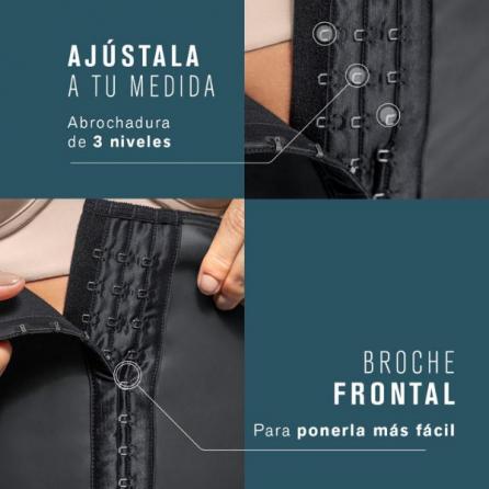 Corsé Reductor, Cinturilla Extrafuerte de Látex, Leonisa