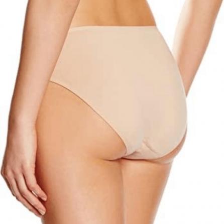 Braga Bikini 95% algodón con bordado, Even Arena Trasero