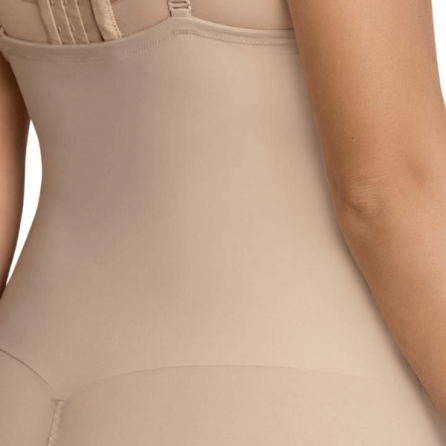 Faja Pantalón Reductor con Tirantes, Control Moderado, Leonisa Nude detalle tirante