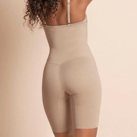Faja Pantalón Reductor con Tirantes, Control Moderado, Leonisa Espalda Nude