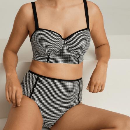 Copa Bikini Bustier Preformado con Aros, Atlas, Primadonna Swim. Verano 2020