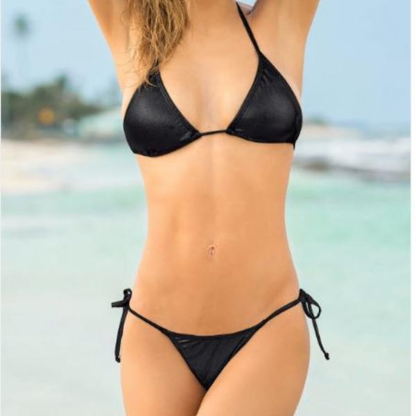 Para Con Bikini Sol Copa El Tomar Conjunto TangaLeonisa Triangular Y thQCrsd