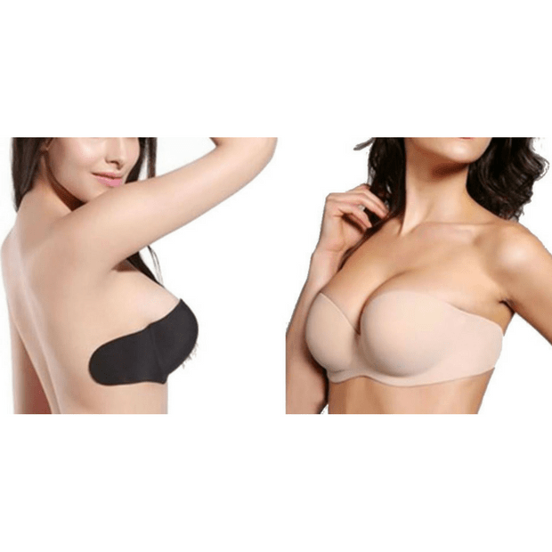 a07560a0cdd26 Sujetador Sin Espalda con Doble Push Up