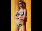 Bikini Con Tirantes, Estampado Tropical, Promise Swimwear.
