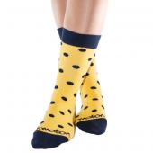 Calcetines Amarillos con Puntitos, Kmalion.