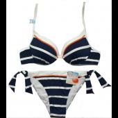 Bikini Super Push Up, Rayas Marineras, Cherry Beach.