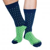 Calcetines de Puntitos Verdes, Kmalion.