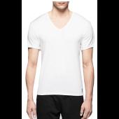 Camiseta Manga Corta Algodón, Cuello Pico, Calvin Klein One