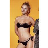 Bikini Bandeau estilo Bohemio, Promise Swimwear.