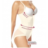 Body Reductor Silueta Secrets, Janira. COLOR BLANCO.