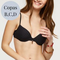 Copa Bikini Preformado con Aros, Long Beach, Cherry Beach