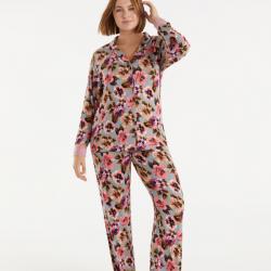Pijama flores hasta la 2XL, PROMISE.