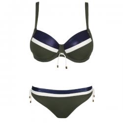 Conjunto Bikini Ocean Drive, copa entera y braga, Primadonna Swim. Verano 2020