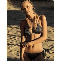 Bikini de Triángulo de Lentejuelas y Braguita, Verdissima.