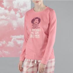 Pijama de Invierno rosa, Mafalda, Gisela