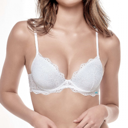 Sujetador Push Up Escotado, Happy, Infiore.