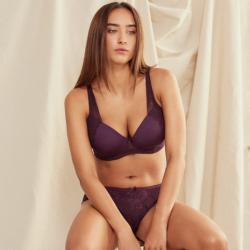 Conjunto de encaje Sujetador Preformado y Braga bikini, Kehat