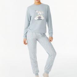 Pijama Tres Piezas con Estampado de Unicornio, Promise