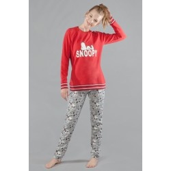 Pijama de Invierno rojo, Snoopy, Gisela