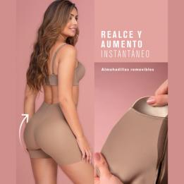 Pantaloncito faja push up con almohadillas extraíbles. LEONISA