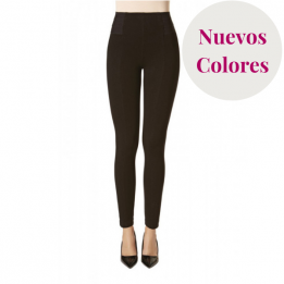 Legging Push Up Efecto Vientre Plano, Milano, Janira. Color de Temporada