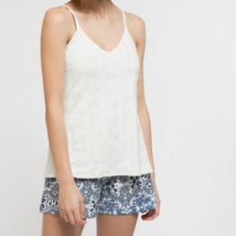 Pijama corto algodón mosaico, Gisela