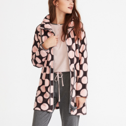 Pijama Tres Piezas Estampado Rosa, Promise