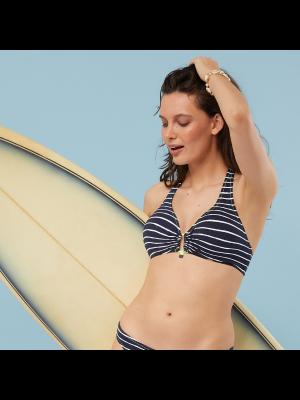 Copa bikini triángulo sin aros y foam, BLUE LAGOON, CHERRY BEACH