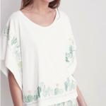 Pijama algodón estampado cactus, Gisela