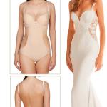 Body trikini invisible push up, Second Skin, Ivette Bridal