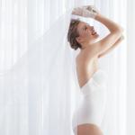 Body sin tirantes invisible espalda escotada, Ivette Bridal