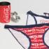 Pack 2 Braguitas Coca Cola, Gisela