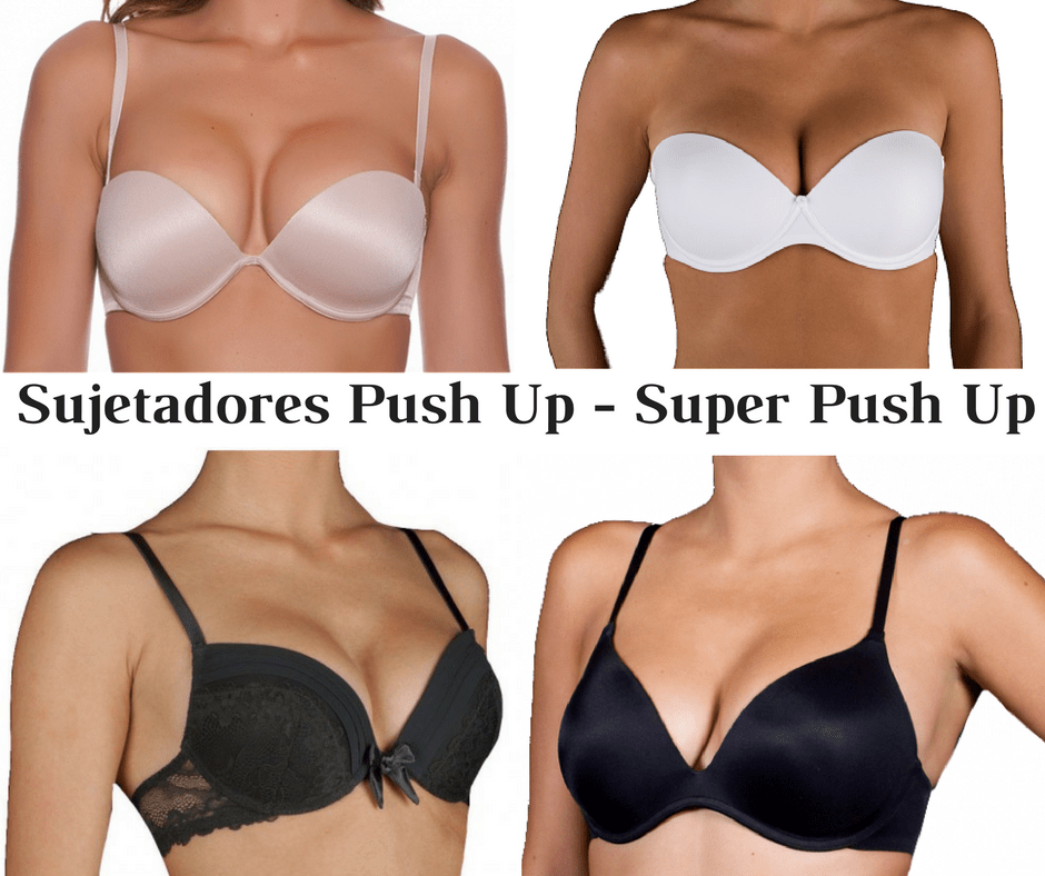 sujetadores push up