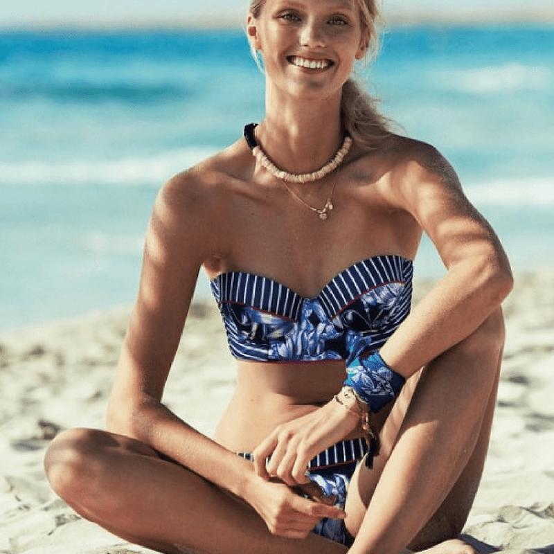 bikini sin tirantes promise